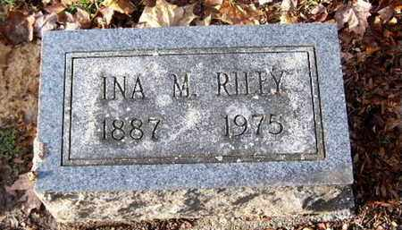 RILEY, INA M - Calhoun County, Michigan | INA M RILEY - Michigan Gravestone Photos