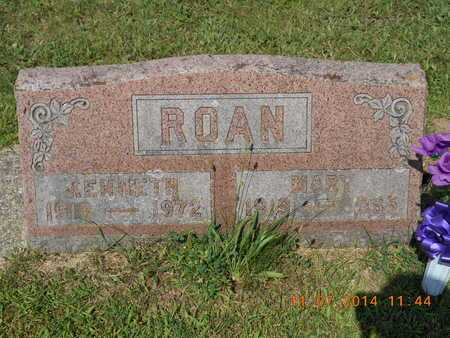 ROAN, KENNETH - Calhoun County, Michigan | KENNETH ROAN - Michigan Gravestone Photos