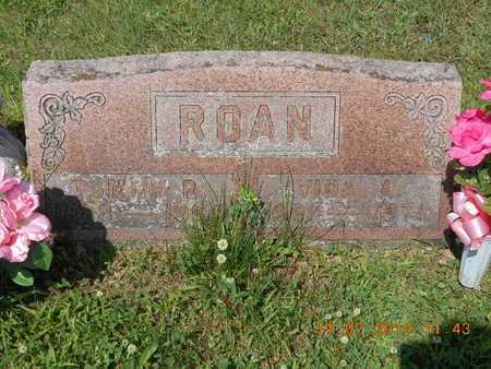 ROAN, VIDA A. - Calhoun County, Michigan   VIDA A. ROAN - Michigan Gravestone Photos