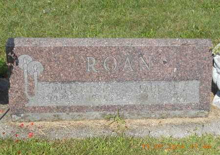 ROAN, WILLIAM H. - Calhoun County, Michigan | WILLIAM H. ROAN - Michigan Gravestone Photos