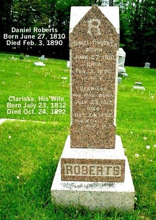 ROBERTS, DANIEL - Calhoun County, Michigan | DANIEL ROBERTS - Michigan Gravestone Photos