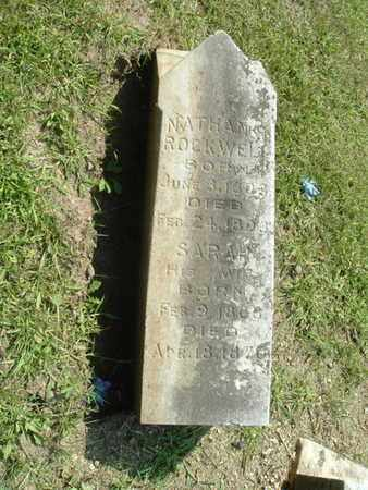 ROCKWELL, SARAH - Calhoun County, Michigan | SARAH ROCKWELL - Michigan Gravestone Photos