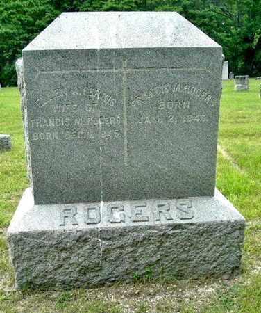 FERRIS ROGERS, ELLEN A. - Calhoun County, Michigan | ELLEN A. FERRIS ROGERS - Michigan Gravestone Photos