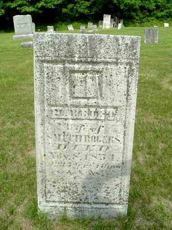 ROGERS, HARRIET - Calhoun County, Michigan | HARRIET ROGERS - Michigan Gravestone Photos