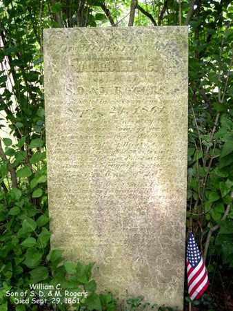 ROGERS, WILLIAM G. - Calhoun County, Michigan | WILLIAM G. ROGERS - Michigan Gravestone Photos