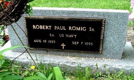 ROMIG, ROBERT P. JR - Calhoun County, Michigan | ROBERT P. JR ROMIG - Michigan Gravestone Photos