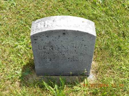 ROSENCRANTZ, BENJAMINE - Calhoun County, Michigan | BENJAMINE ROSENCRANTZ - Michigan Gravestone Photos