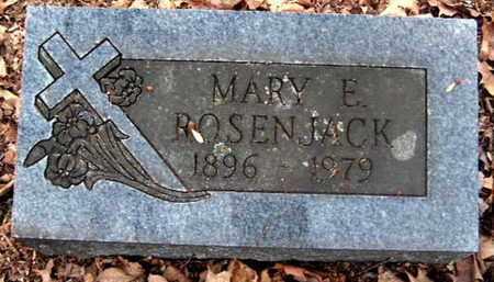 ROSENJACK, MARY E - Calhoun County, Michigan | MARY E ROSENJACK - Michigan Gravestone Photos