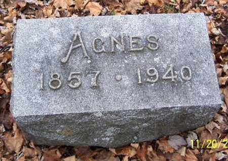 ROSS, AGNES - Calhoun County, Michigan | AGNES ROSS - Michigan Gravestone Photos