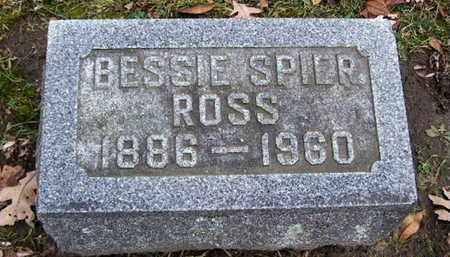 ROSS, BESSIE - Calhoun County, Michigan | BESSIE ROSS - Michigan Gravestone Photos
