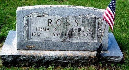 ROSS, ERMA R - Calhoun County, Michigan | ERMA R ROSS - Michigan Gravestone Photos
