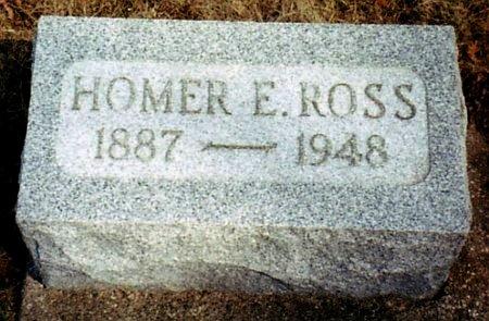 ROSS, HOMER - Calhoun County, Michigan | HOMER ROSS - Michigan Gravestone Photos