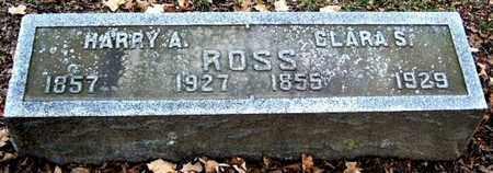 ROSS, HARRY A - Calhoun County, Michigan   HARRY A ROSS - Michigan Gravestone Photos