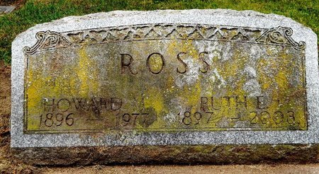 ROSS, HOWARD - Calhoun County, Michigan | HOWARD ROSS - Michigan Gravestone Photos
