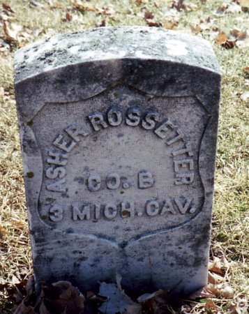ROSSETTER, ASHER - Calhoun County, Michigan | ASHER ROSSETTER - Michigan Gravestone Photos