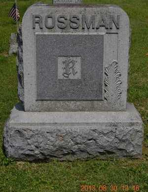 ROSSMAN, FAMILY - Calhoun County, Michigan | FAMILY ROSSMAN - Michigan Gravestone Photos