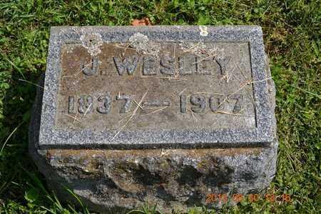 ROSSMAN, J. WESLEY - Calhoun County, Michigan   J. WESLEY ROSSMAN - Michigan Gravestone Photos