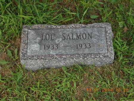 SALMON, LOU - Calhoun County, Michigan   LOU SALMON - Michigan Gravestone Photos