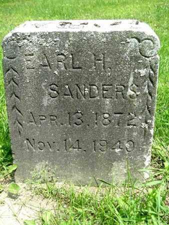 SANDERS, EARL H. - Calhoun County, Michigan   EARL H. SANDERS - Michigan Gravestone Photos