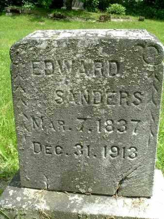 SANDERS, EDWARD - Calhoun County, Michigan | EDWARD SANDERS - Michigan Gravestone Photos