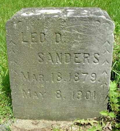 SANDERS, LEO - Calhoun County, Michigan | LEO SANDERS - Michigan Gravestone Photos