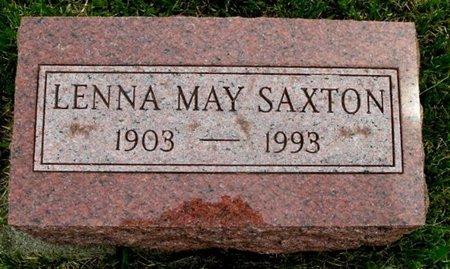 SAXTON, LENA M - Calhoun County, Michigan | LENA M SAXTON - Michigan Gravestone Photos