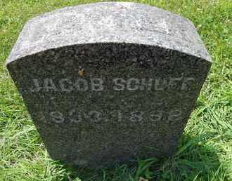 SCHUFF, JACOB - Calhoun County, Michigan | JACOB SCHUFF - Michigan Gravestone Photos