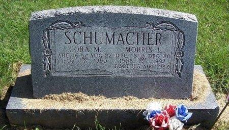 SCHUMACHER, CORA M - Calhoun County, Michigan | CORA M SCHUMACHER - Michigan Gravestone Photos