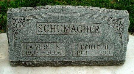 SCHUMACHER, LA VERN N - Calhoun County, Michigan | LA VERN N SCHUMACHER - Michigan Gravestone Photos
