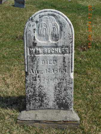 SECHLER, WILLIAM - Calhoun County, Michigan | WILLIAM SECHLER - Michigan Gravestone Photos