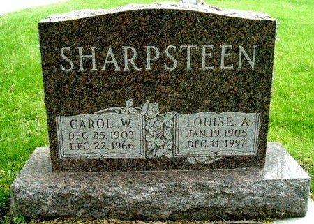 SHARPSTEEN, LOUISE A - Calhoun County, Michigan | LOUISE A SHARPSTEEN - Michigan Gravestone Photos