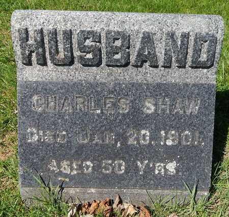 SHAW, CHARLES - Calhoun County, Michigan | CHARLES SHAW - Michigan Gravestone Photos
