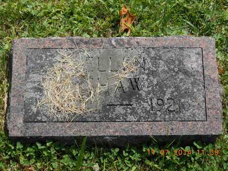 SHAW, ELLEN - Calhoun County, Michigan   ELLEN SHAW - Michigan Gravestone Photos