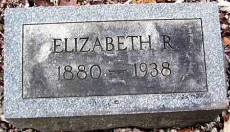 SHAW, ELIZABETH R - Calhoun County, Michigan | ELIZABETH R SHAW - Michigan Gravestone Photos