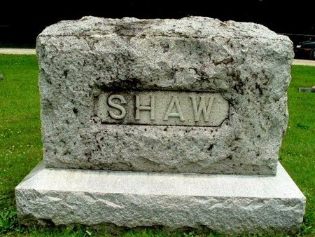 SHAW, FAMILY MARKER - Calhoun County, Michigan | FAMILY MARKER SHAW - Michigan Gravestone Photos