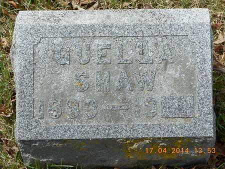 SHAW, GUELLA - Calhoun County, Michigan   GUELLA SHAW - Michigan Gravestone Photos