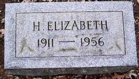 SHAW, H. ELIZABTH - Calhoun County, Michigan | H. ELIZABTH SHAW - Michigan Gravestone Photos