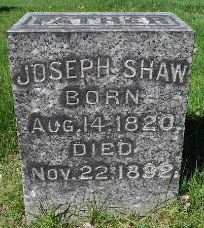 SHAW, JOSEPH - Calhoun County, Michigan | JOSEPH SHAW - Michigan Gravestone Photos
