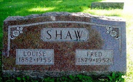 SHAW, FRED - Calhoun County, Michigan | FRED SHAW - Michigan Gravestone Photos