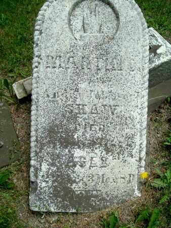 SHAW, MARTIN - Calhoun County, Michigan | MARTIN SHAW - Michigan Gravestone Photos