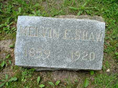 SHAW, MELVIN - Calhoun County, Michigan | MELVIN SHAW - Michigan Gravestone Photos