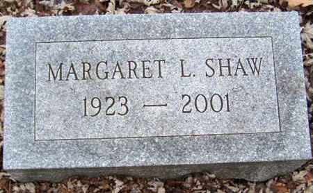 SHAW, MARGARET L - Calhoun County, Michigan | MARGARET L SHAW - Michigan Gravestone Photos