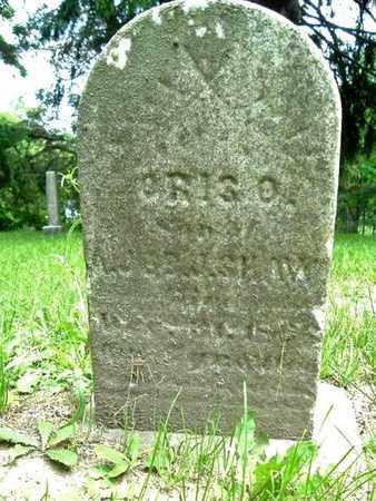 SHAW, ORIS - Calhoun County, Michigan | ORIS SHAW - Michigan Gravestone Photos