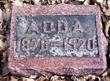 SHEAR, ADDA - Calhoun County, Michigan | ADDA SHEAR - Michigan Gravestone Photos
