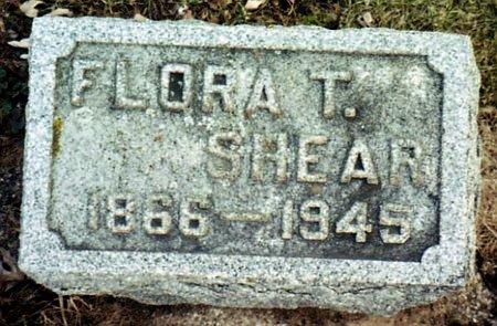 SHEAR, FLORA T. - Calhoun County, Michigan   FLORA T. SHEAR - Michigan Gravestone Photos