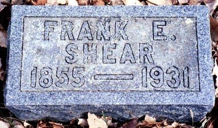 SHEAR, FRANK E. - Calhoun County, Michigan | FRANK E. SHEAR - Michigan Gravestone Photos