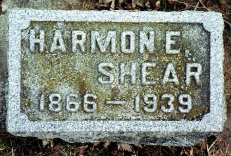 SHEAR, HARMON - Calhoun County, Michigan   HARMON SHEAR - Michigan Gravestone Photos