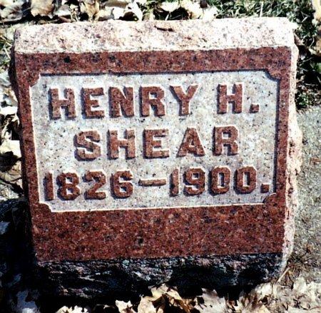 SHEAR, HENRY H. - Calhoun County, Michigan   HENRY H. SHEAR - Michigan Gravestone Photos
