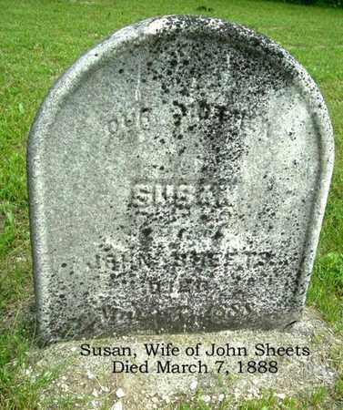 SHEETS, SUSAN - Calhoun County, Michigan | SUSAN SHEETS - Michigan Gravestone Photos