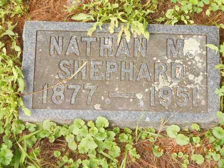 SHEPHARD, NATHAN M. - Calhoun County, Michigan | NATHAN M. SHEPHARD - Michigan Gravestone Photos
